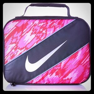 Nike Insulated Lunchbox Pink Black New